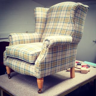 Wingback Armchair - Bude Upholstery